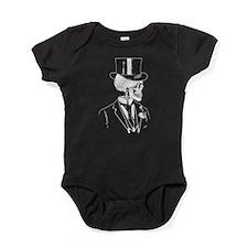 Skull Groom Baby Bodysuit