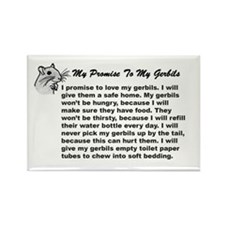 My Promise To My Gerbils Magnet
