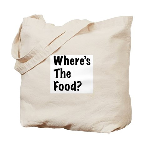 WTF-Where's The Food Tote Bag