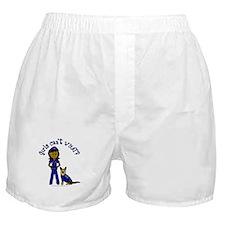 Dark K-9 Police Boxer Shorts