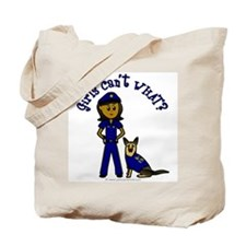 Dark K-9 Police Tote Bag