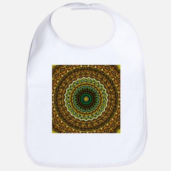 Eastern Promise Mandala Pattern Bib
