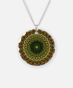 Eastern Promise Mandala Pattern Necklace
