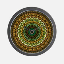 Eastern Promise Mandala Pattern Wall Clock