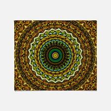Eastern Promise Mandala Pattern Throw Blanket