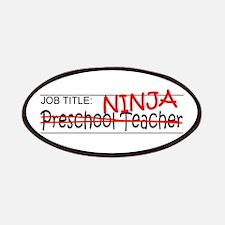 Job Ninja Preschool Patches