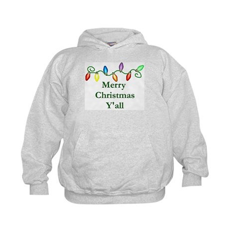 Merry Christmas Y'all Kids Hoodie