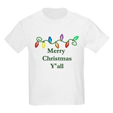 Merry Christmas Y'all Kids T-Shirt