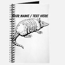 Custom Armadillo Sketch Journal
