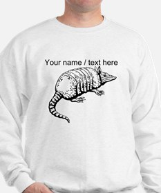 Custom Armadillo Sketch Sweatshirt
