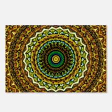 Eastern Promise Mandala Pattern Postcards (Package