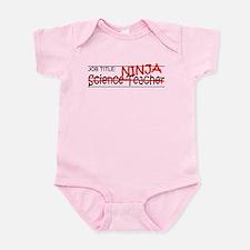 Job Ninja Science Teacher Infant Bodysuit