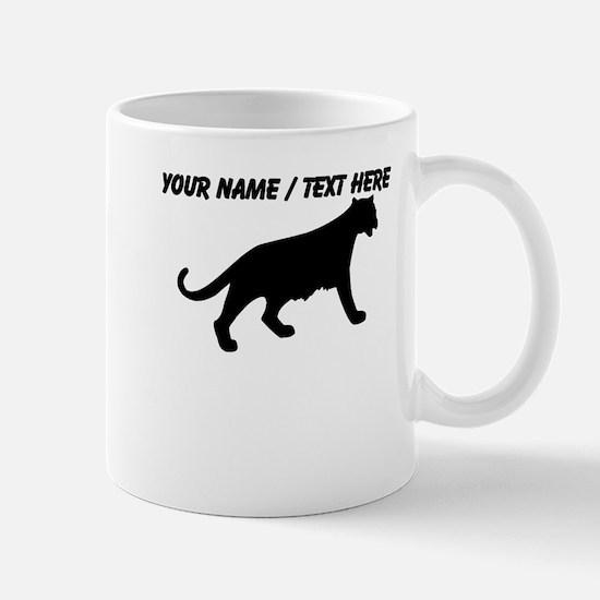 Custom Black Panther Sketch Mug