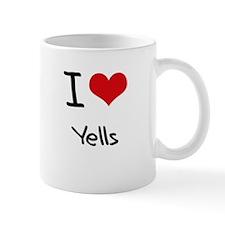 I love Yells Mug