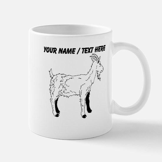 Custom Goat Sketch Mug