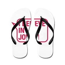 I Believe In Jovani Flip Flops