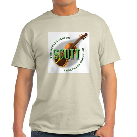 Scott Radio Ash Grey T-Shirt