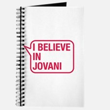 I Believe In Jovani Journal
