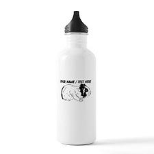 Custom Hamster Sketch Water Bottle