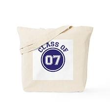Class of 07 Tote Bag