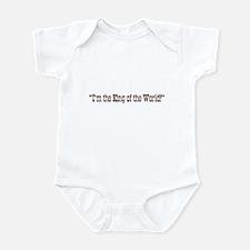 King of the World Titanic Infant Bodysuit