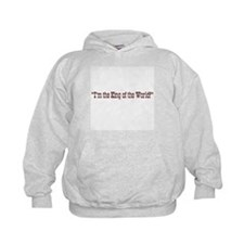 King of the World Titanic Hoodie