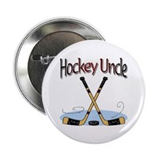 Hockey Uncle Button