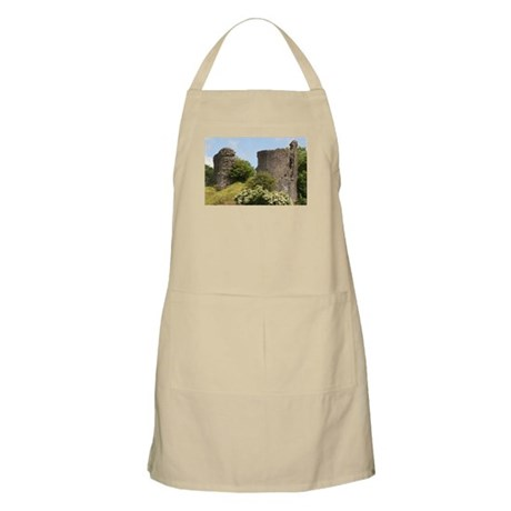 Llandovery Castle, Wales, United Kingdom Apron