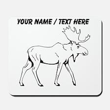 Custom Moose Sketch Mousepad