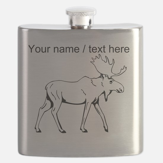 Custom Moose Sketch Flask