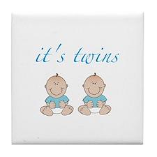 It's twins Tile Coaster