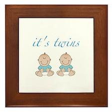 It's twins Framed Tile