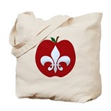 French teacher Canvas Totes