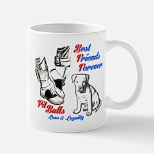 Best Friends Forever, Pit Bull Dogs Mug