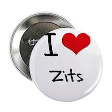 "I love Zits 2.25"" Button"