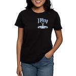 I Play Hockey Women's Dark T-Shirt