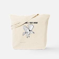 Custom Falcon Sketch Tote Bag