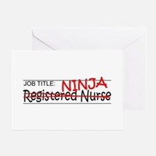 Job Ninja RN Greeting Card