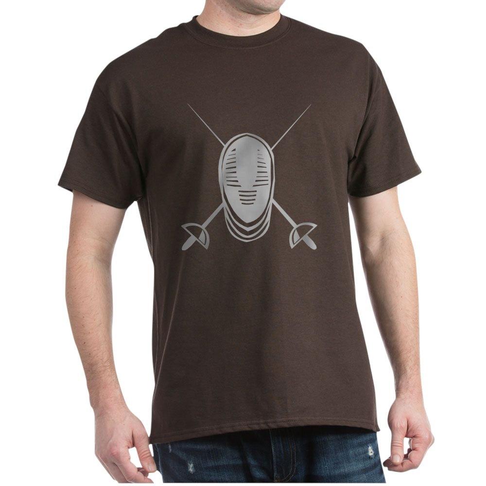 CafePress Fencing Dark T Shirt 100/% Cotton T-Shirt 87637863