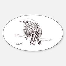 Little Brown Wren Decal