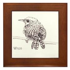 Wren Framed Tile
