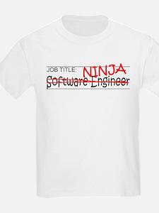 Job Ninja Software Engineer T-Shirt