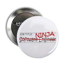 "Job Ninja Software Engineer 2.25"" Button (10 pack)"