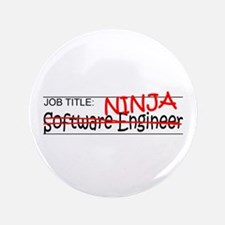 "Job Ninja Software Engineer 3.5"" Button"