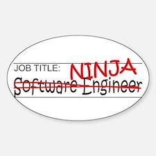Job Ninja Software Engineer Decal
