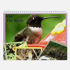 For The Birds Wall Calendar