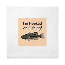 Im Hooked on Fishing Queen Duvet