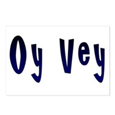 Oy Vey Yiddish Postcards (Package of 8)