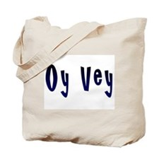 Oy Vey Yiddish Tote Bag