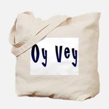 Oy Vey Yiddish Tote Bag